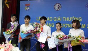 Giải thưởng Nguyễn Hoàng Phương năm 2018