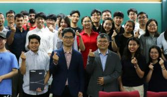 Hình ảnh các bạn sinh viên Khoa Vật lý sau kỳ thực tập tại viện KAIST, Hàn Quốc