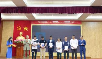 Khoa Vật lý trao Giải thưởng Nguyễn Hoàng Phương năm 2020