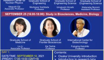 Đại học Osaka giới thiệu chương trình học sau đại học